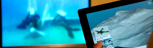 To-skjerm applikasjoner for iOS